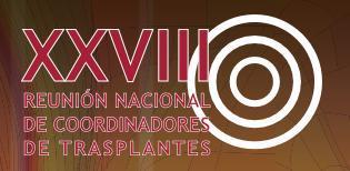 XXVIII coordinadores trasplantes
