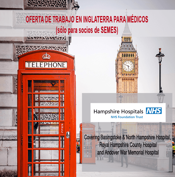 oferta trabajo hampshire hospital