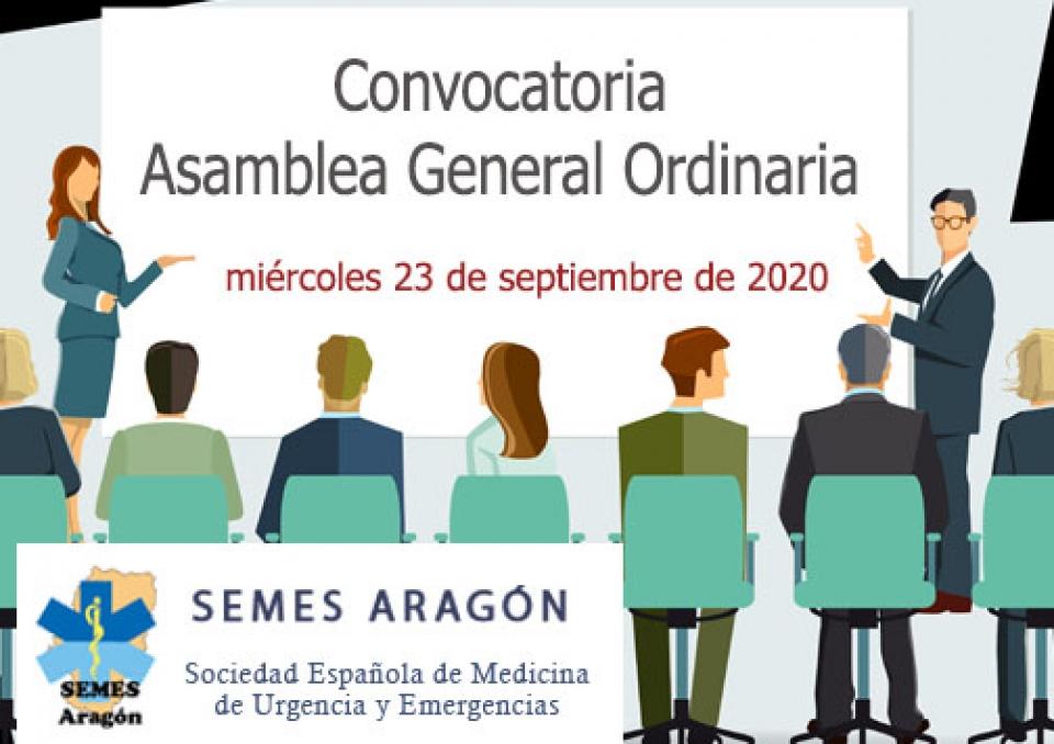 Convocatoria Asamblea General Ordinaria de SEMES Aragón